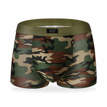 Military Camouflage Printing Boxer Underpants