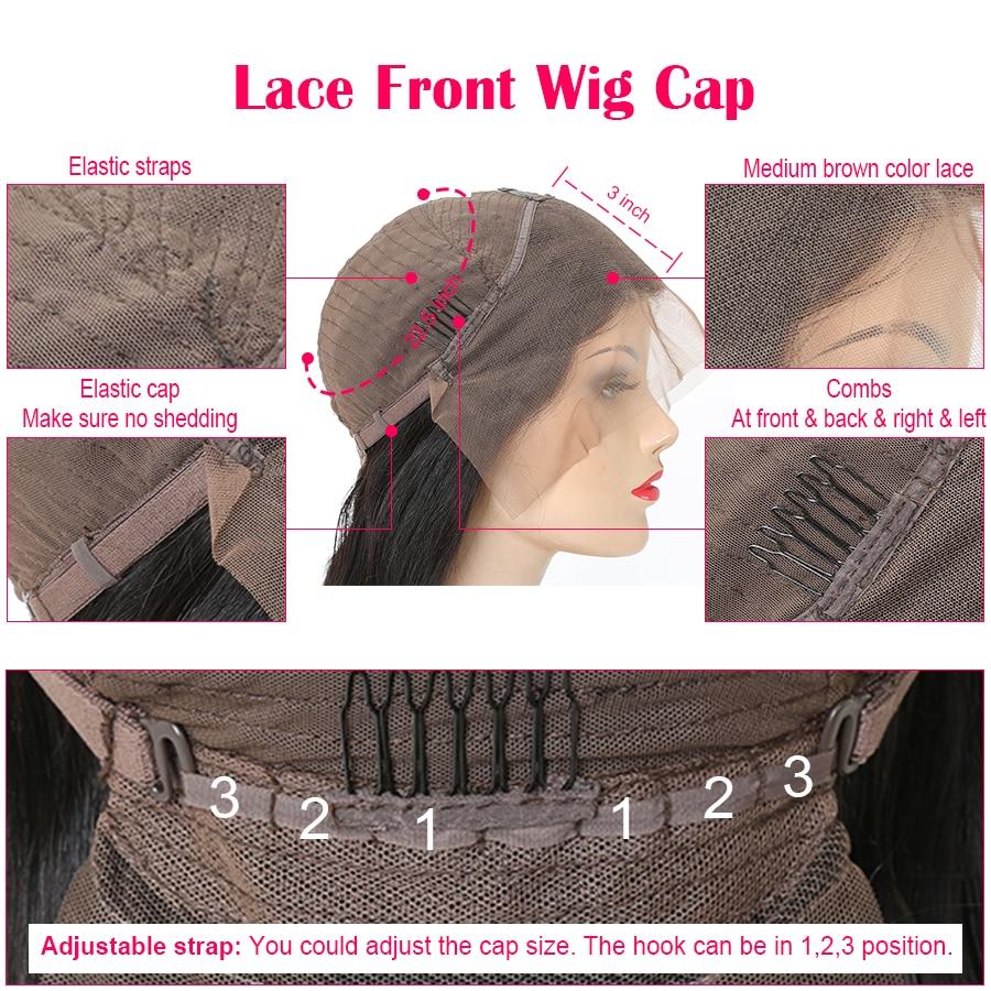 Čudovito dekle brezhibno čipke sprednje lasulje las las za črne - Človeški lasje (za črne) - Fotografija 4