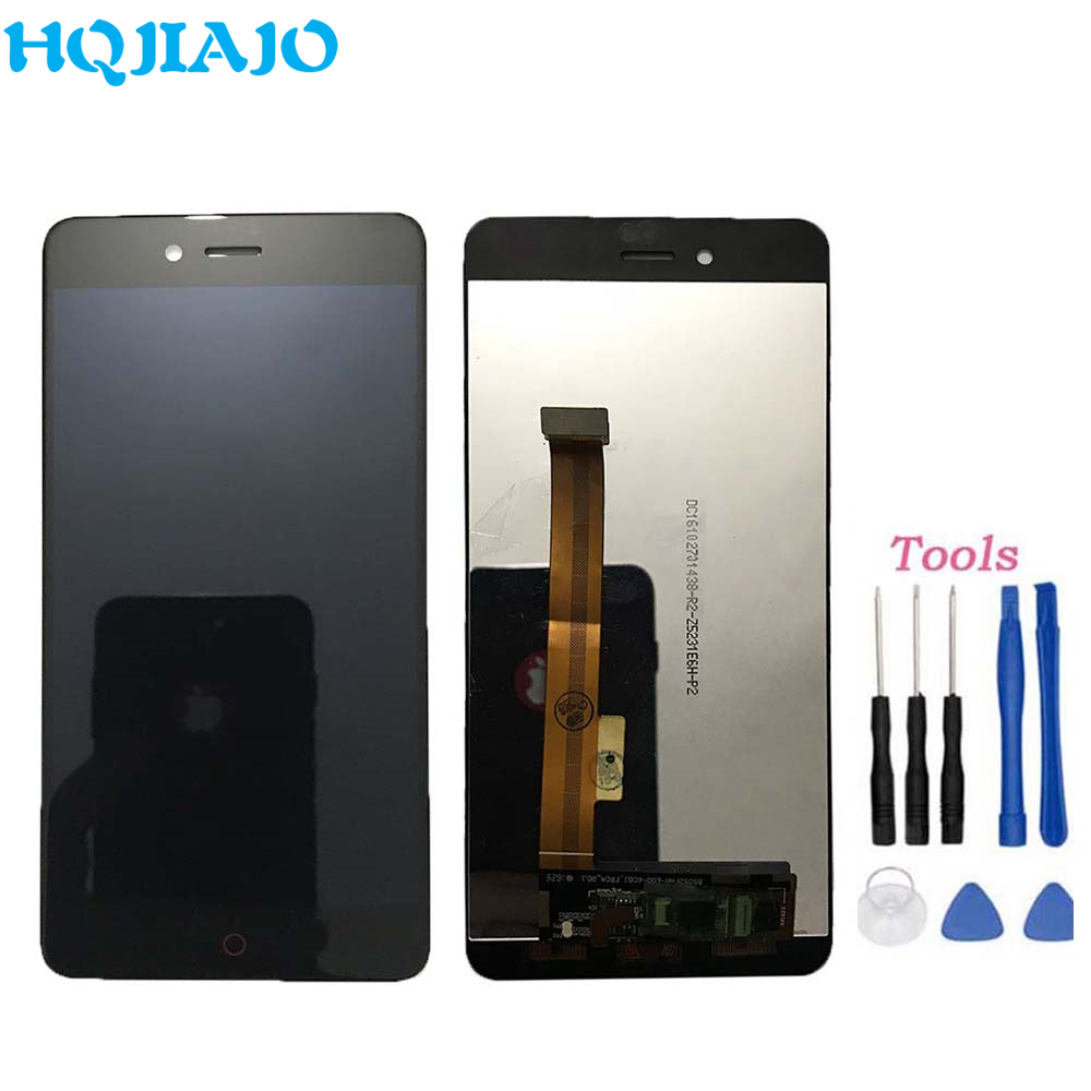 Original LCD Display Screen For ZTE nubia Z11 mini S NX549J Assembly LCD Display Touch Screen