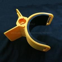Металлический держатель датчика MD6350 блоки управления аксессуары золотой детектор пластиковые части желтый стикер с винтом Бесплатная доставка