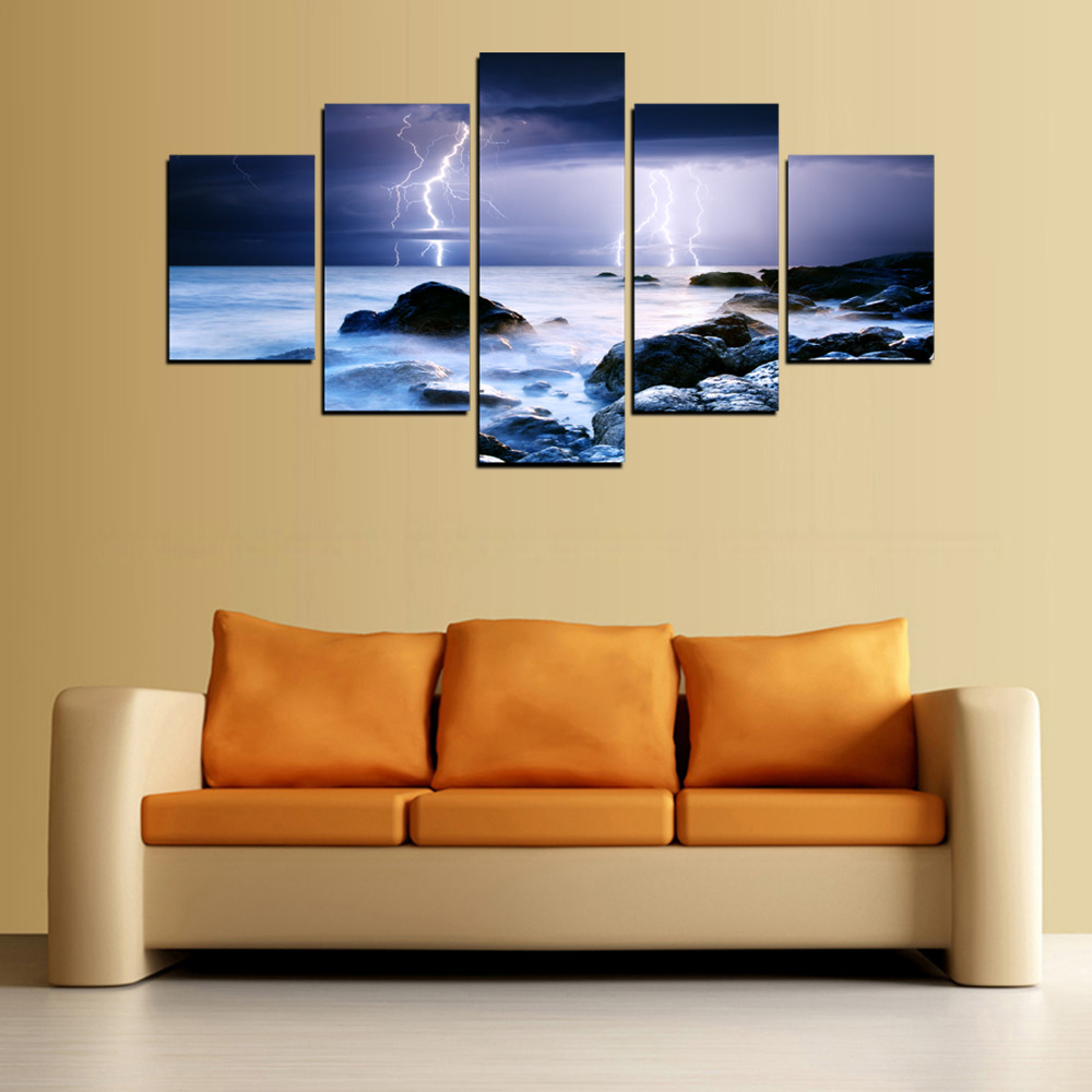 Famous Lightning Wall Art Image Collection - Wall Art Collections ...