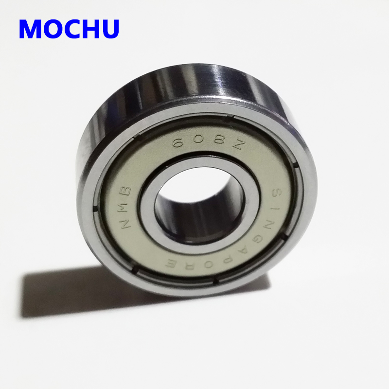 1pcs 8mm Shielded New NMB bearing 608 608z 608zz Ball Bearings 8mmX22mmX7mm Kick Scooter Skateboards Roller Blade Inline Skating 10pcs 688zz double shielded ball bearings 8x16x5mm metal miniature ball bearing for harware accessories