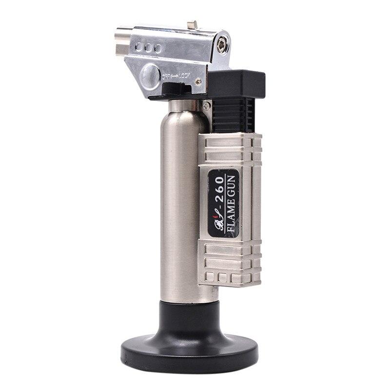 Dental Butane Gas Micro Torch Burner Welding Soldering Gun Lighter Flame Welder Windproof Fire Source Micro Flame Gun/Lighter