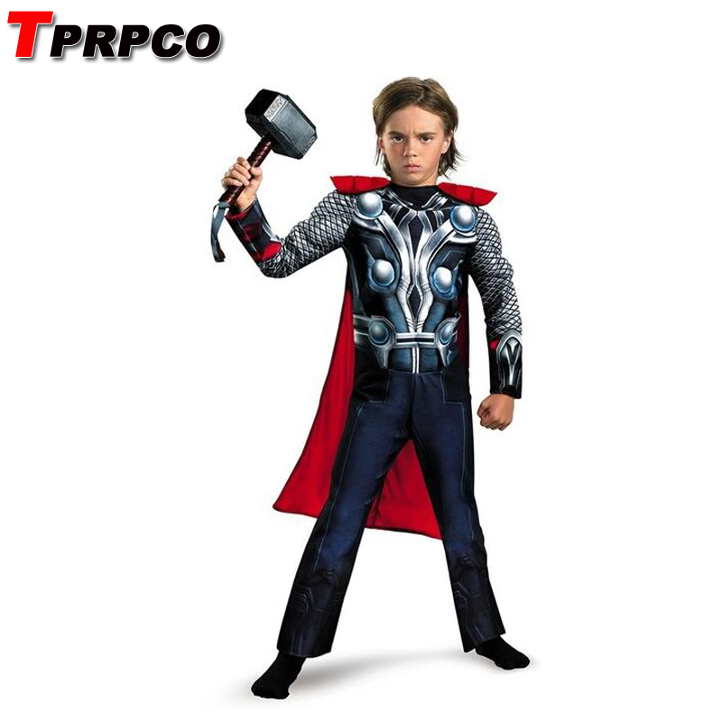 TPRPCO  Child Boy Muscle Thor Movie Avergers Superhero Costume No Hammer NL1361