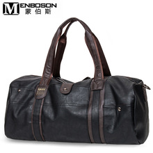 New High Quality PU Leather Handbags For Men Large-Capacity Portable Shoulder Bags Men's Casual Travel Bags Package
