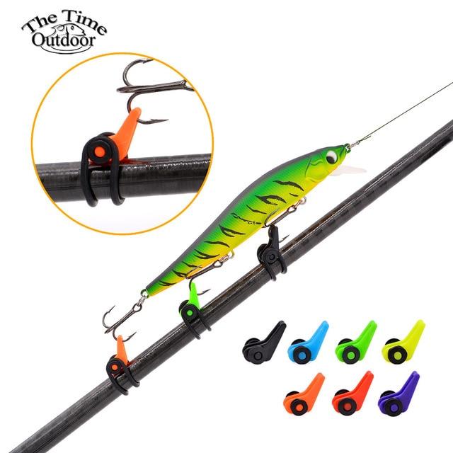 1 pcs plastic fishing hook keeper fishing tackle rod for Fishing rod accessories