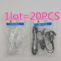 Hot Sale 20pcs Lot S7 Earphones Headsets In Ear Headphones Hands Free With Mic For Android