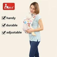 חם צבעוני רשת שינוי כותנה בייבי המוביל רך לנשימה ארגונומית התינוק המוביל המושב הישבן תרמיל גב קלע המשלוח חינם