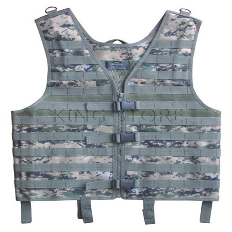 Tactical Military MOLLE Vest Outdoor Hunting CS Army Nylon Good Quality Combat Safety Protective Vest