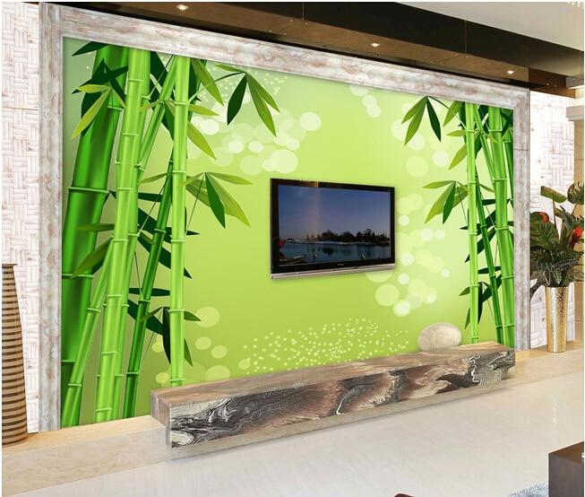 paisajes custom wallpaper murales de papel tapiz para bamb fresco sal n tv pared de vinilo. Black Bedroom Furniture Sets. Home Design Ideas