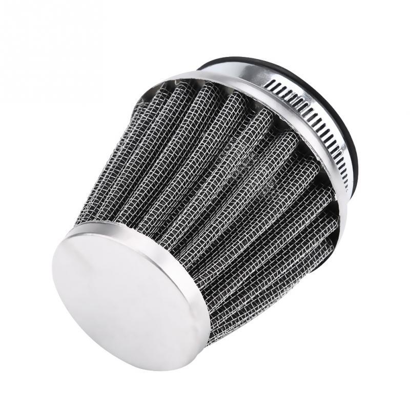 Motorcycle Air Intake Filter Universal Motorcycle Motorbike Air Intake Flow Filter Cleaner with 42//48//50//60mm engine inlet 48MM