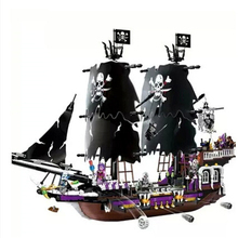 Creative educational series children pirates pirate ship assembled model children toy children gifts