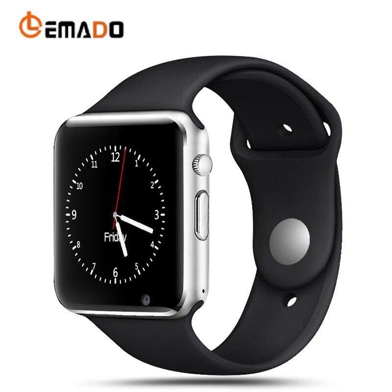LEMADO A1 Bluetooth Smart Uhren Sport für Männer Mit SIM Smartwatch Kamera Schlaf Überwachung für Android Russland T15