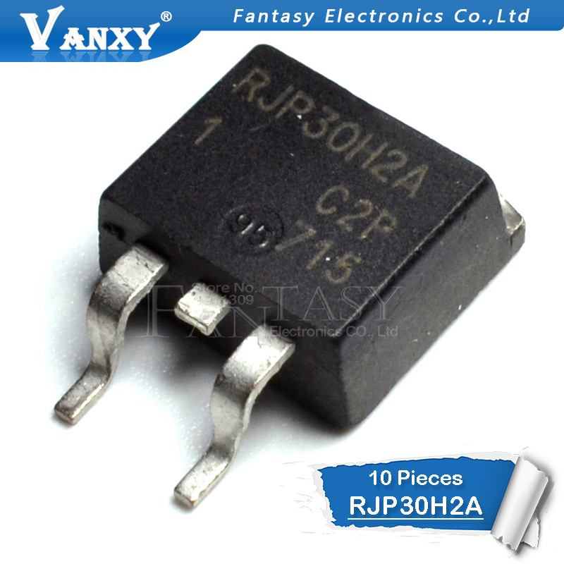 10Pcs RJP30H2A TO-263 RJP30H2 TO263