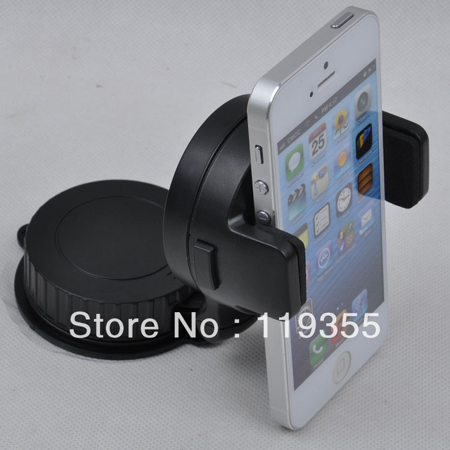 Car phone holder rotating for iphone cell phone holder car mount gps universal car navigation holder