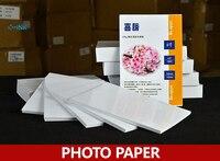 100 Fogli Carta Fotografica Impermeabile Luminosa 4R pollici per Stampanti A Getto D'inchiostro, 230g Carta Fotografica
