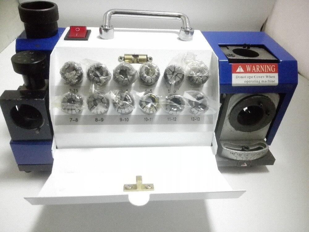 Expert Bohrer Schärfen Schleifen Maschine bohrer spitzer/grinder 2mm bis 13mm Kapazität mit ER20 collet