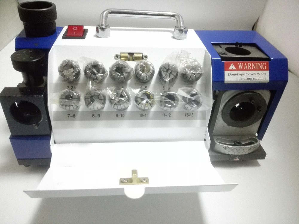 Expert wiertarka do ostrzenia przyrząd do ostrzenia wierteł/szlifierka 2mm do 13mm pojemność z tuleją ER20