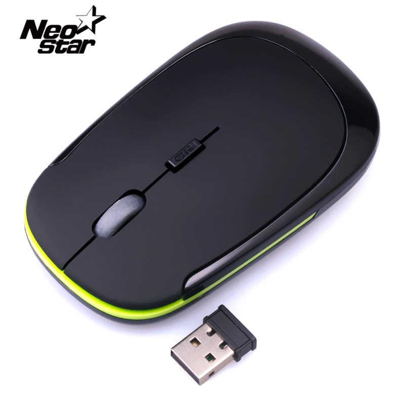 Souris sans fil 1600 DPI optique Portable 2.4 Ghz avec souris récepteur USB pour ordinateur Portable ordinateur Portable PC ordinateur de bureau pour Macbook Mac