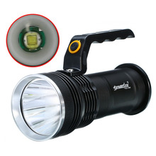 Mayitr Tactical Rechargeable Flashlight 2000LM 3 Modes XM-L LED Handheld Torch Lamp Black For Outdoor Walking Camping Light