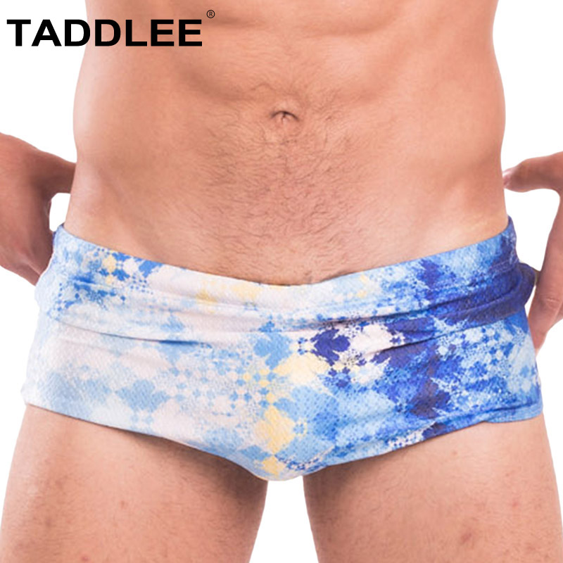 Taddlee Brand Mens Sexy Swimwear Swim Boxer Briefs Bikini Boardshorts Surf Bathing Suits Swiming Trunks Gay Penis Pounch WJ New