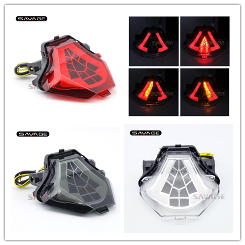 For YAMAHA YZF-R25 YZF-R3 MT-25 MT-03 MT25 MT03 Motorcycle Accessories Integrated LED Tail Light Turn signal Clear for yamaha mt25 mt03 mt 25 mt 03 2015 2016 balance shock front fork brace motorcycle accessories cnc aluminum