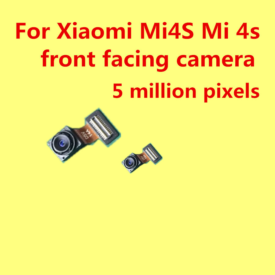 front facing camera For Xiaomi Mi4S Prime Mi 4s phone 5 million pixelsp in Mobile Phone Camera Modules from Cellphones Telecommunications