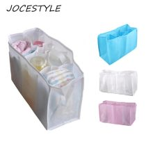 Portable Travel Baby Diaper Nappy 7 Liners Bag Inserts Handbag Organizer Pouch Storage Inner Diapers Bottle Storage Mummy Bag(China)