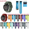 JKER 26 22MM Watchband for Garmin Fenix 5 5X 3 3 HR for Fenix 5X Plus S60 Watch Quick Release Silicone Easyfit Wrist Band Strap
