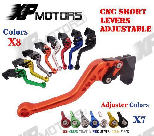 CNC Short Brake Clutch Levers For BMW F800S ST F800GS F650GS F700GS F800GT F800R adjustable billet short folding brake clutch levers for bmw f 650 700 800 gs f650gs f700gs f850gs 08 15 09 10 f 800 r s st 06 15