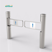 Flap Barrier Exit Gate Automatic Door For Supermarket
