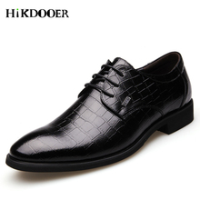 italian oxford shoes for men luxury brand mens patent leather black pointed toe dress 2018 classic derbies man