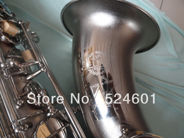 Cheap Wholesale Copy Henri selmer  Drop B adjustment Tenor saxophone musical instruments Reference 54 Ma Nickel