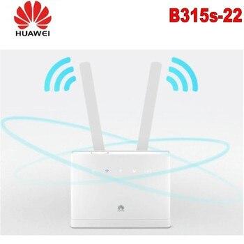 Unlocked HUAWEI B315 B315S-22 with Antenna CPE 150Mbps 4G LTE FDD TDD Wireless PK E5186 B310 B593 unlocked new huawei b315 b315s 936 with antenna 4g lte cpe 150mbps 4g lte fdd wireless gateway wifi router