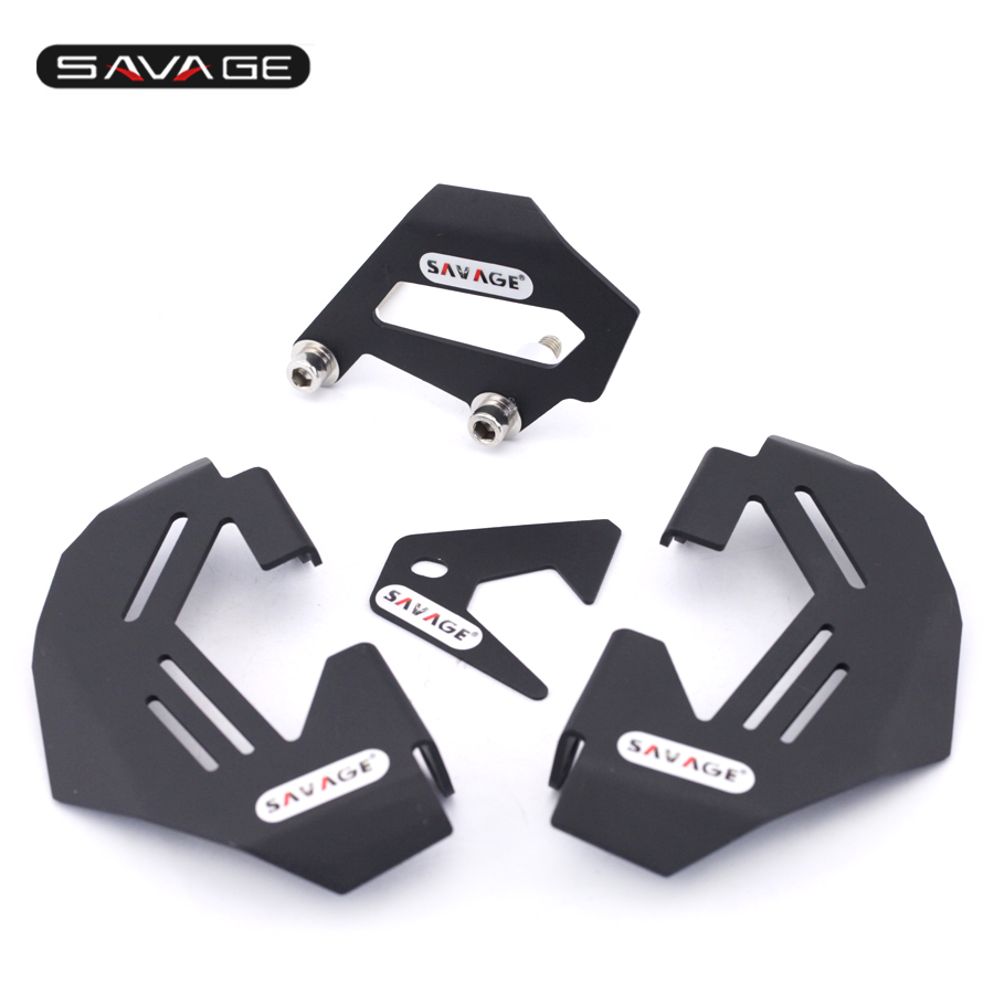 Front & Rear Brake Caliper Cover Guard For BMW R1200GS LC/Adv 13-17, R1200R R1200RS 15-16 Motorcycle Accessories Protector b 77 c 75 motorcycle brake clutch levers for bmw r nine t 14 16 r1200r r1200rs 15 17 r1200rt 14 17 r1200gs 13 17