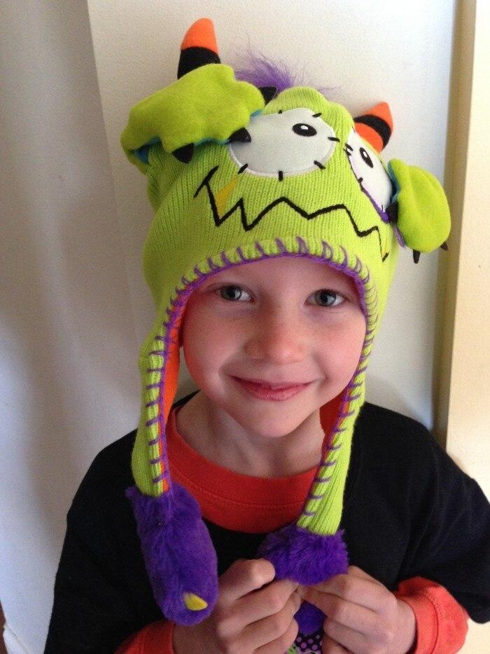 4e8277bf0de Αγόρια ' Βρεφικά ρούχα Push Moving Hat set Hero Baby Hat Earflap Cap  Christmas Gift Kids Rabbit Animal Dance Monster Dog Monkey Action Bonnet  Sponge