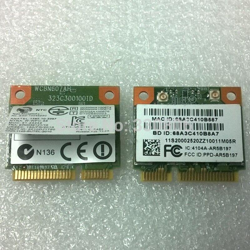 Беспроводная карта Atheros AR9287 AR5B197 + BT 3,0 Combo HMC, FRU 20002520|atheros ar9287|atheros ar5b197wireless card | АлиЭкспресс