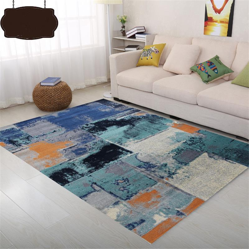 Современный абстрактный ковры и ковры для дома Гостиная полипропилен Спальня ковер диван Кофе таблица коврик кабинет ковер