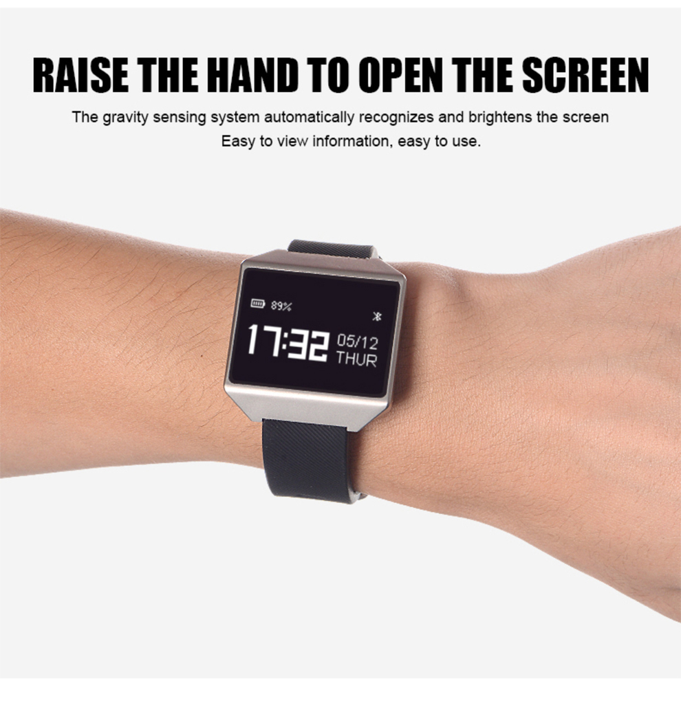 CK12 graphene smart watch ECG heart rate blood pressure sleep monitoring smart wristbands for android ios pedometer sport watch 22