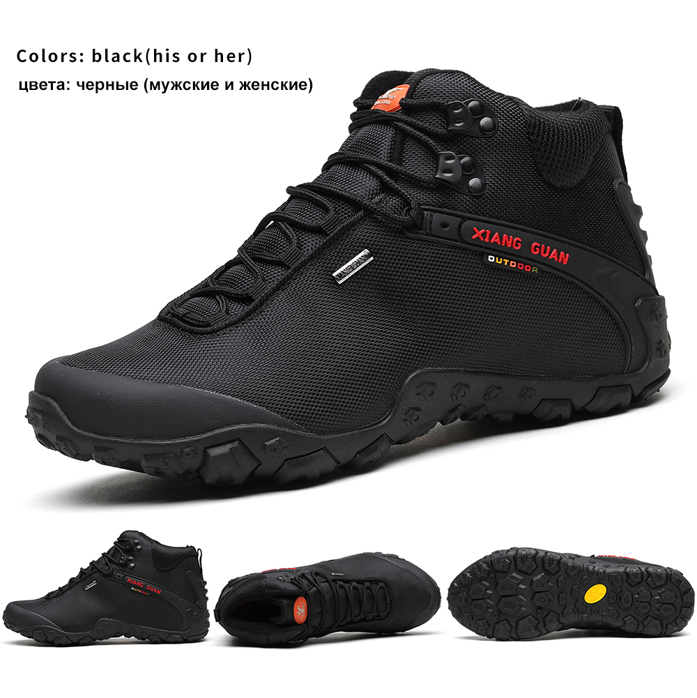 034f76a7b9c8 XIANG GUAN Men s Outdoor High Top Oxford Water Resistant Trekking ...