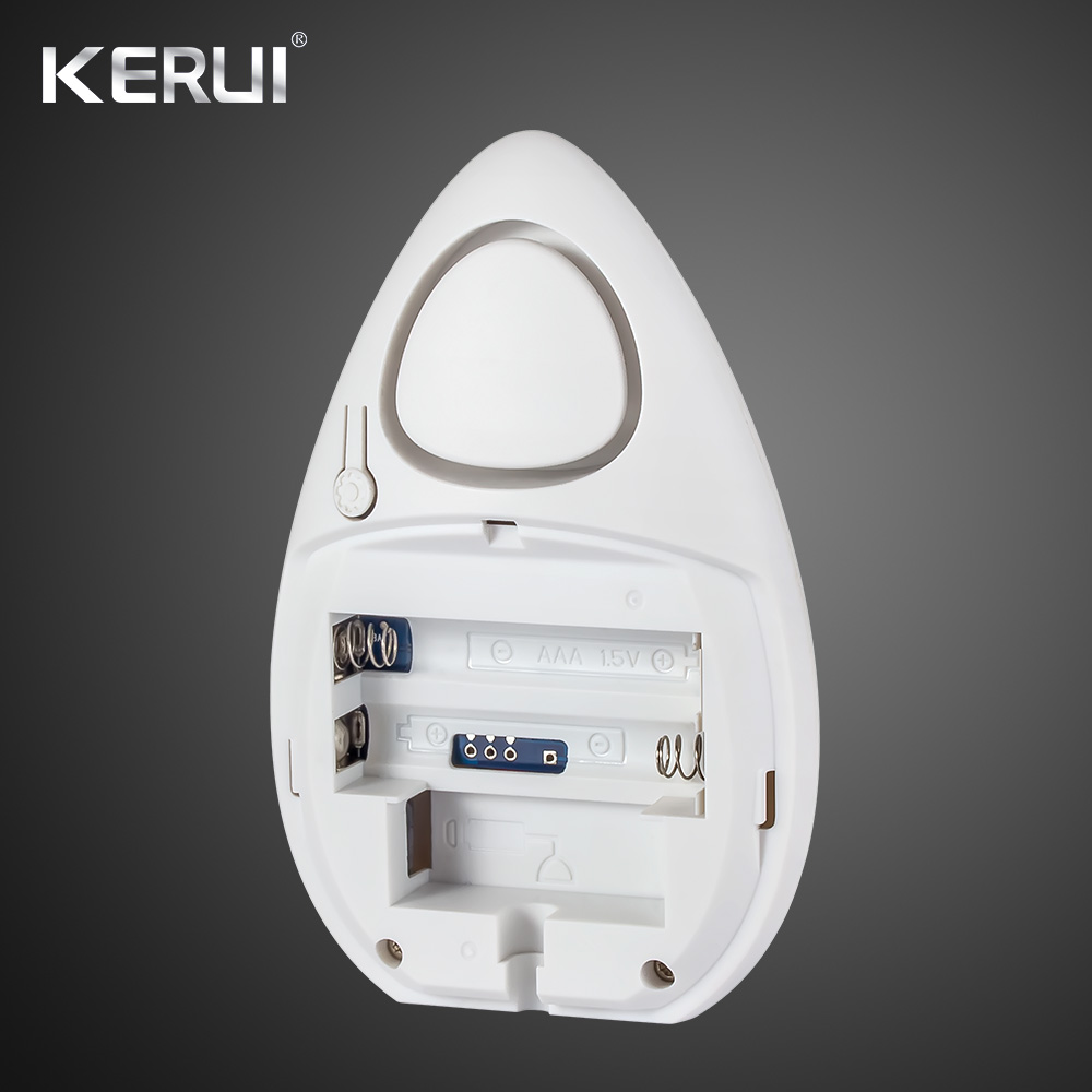 KERUI 433Mhz WD51 120dB Water Leakage Water Sensor Alarm Electronic Water Leak Detector For Home Wifi Gsm ALarm 1
