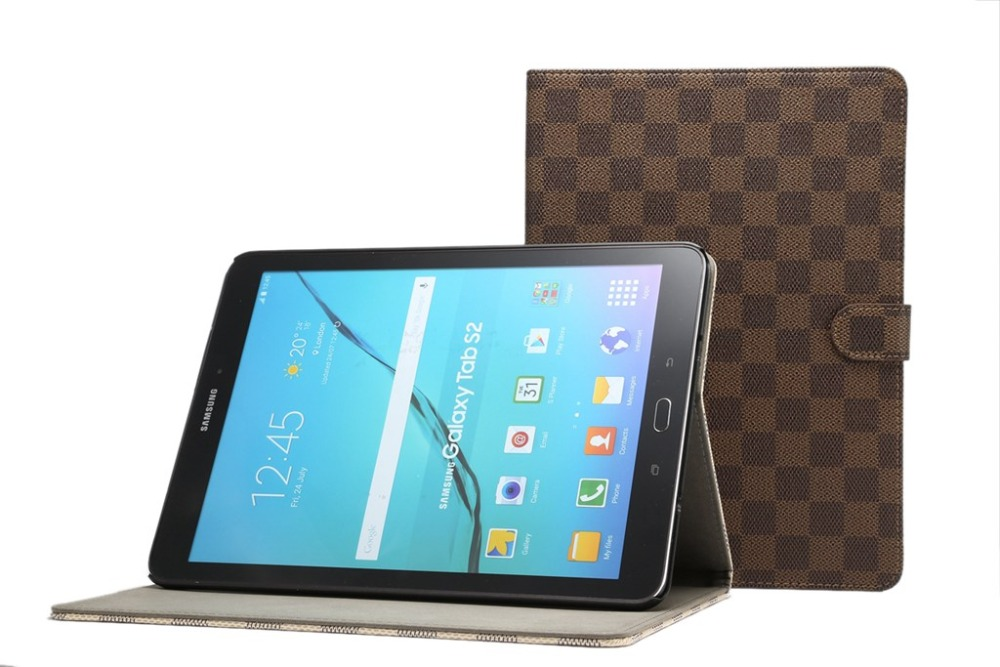Leather Cover For Samsung Galaxy Tab S2 9.7 T810 T813 T815 T819 Tablet Case Stand Smart Protector Case Fundas