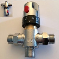 Wholesale And Retail Promotion Brass Control Mixing Water Temperature Thermostatic Mixing Valve