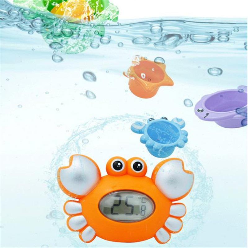 Water temperature gauge baby cartoon newborn bath toy13