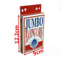 High Quality Twofold Giant Playing Cards Magic Party Game Cards Red Fun Pub Club Family Party School Full Deck Gift Table Games