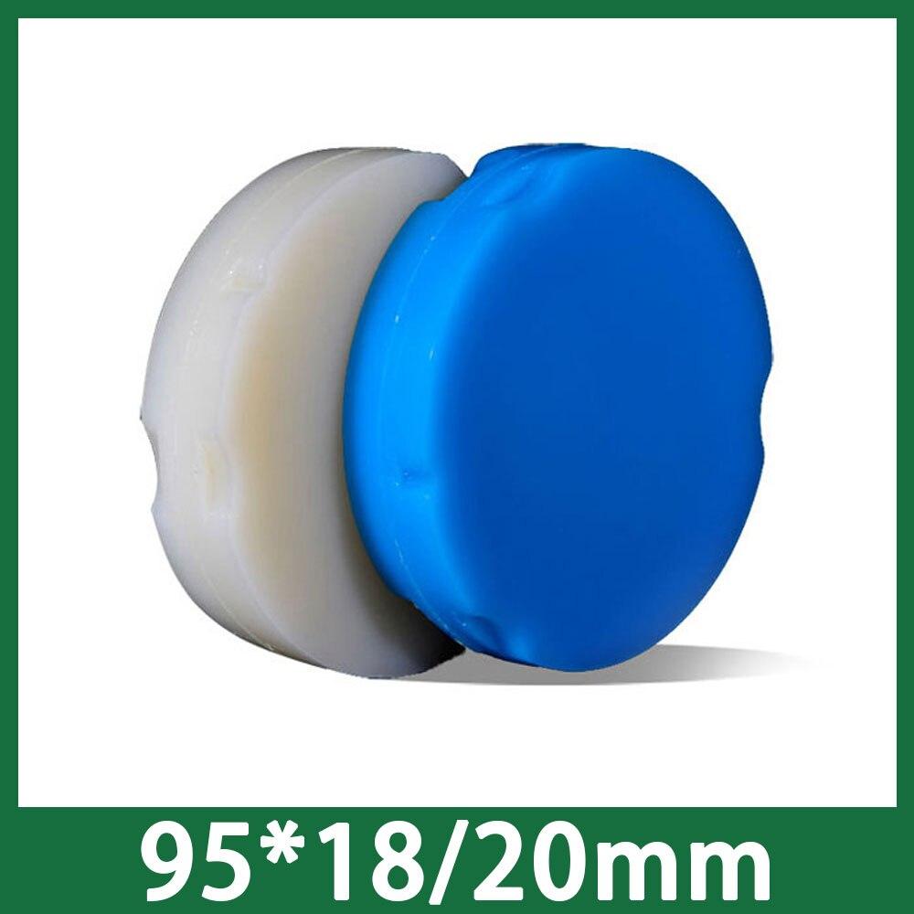 5pieces lot Dental Wax Block 18mm 20mm Thickness for ZirkonZahn 95mm CADCAM System