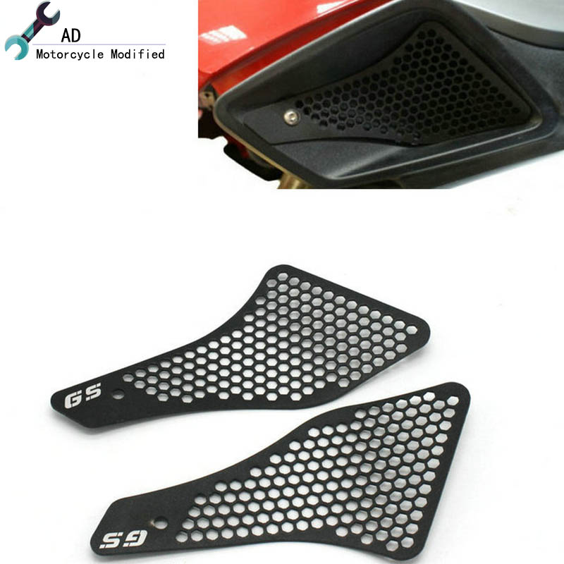 Motorcycle Air Intake Protector For BMW R 1200 GS LC 13 14 15 16 Grille Guard Covers Motor Grill R1200GS Accessories racing grills version aluminum alloy car styling refit grille air intake grid radiator grill for kla k5 2012 14