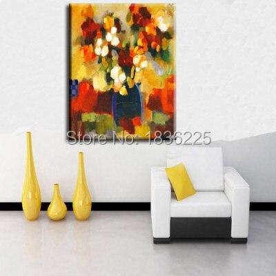 Idée de peinture à l'huile chinoise | Peintures abstraites modernes uniques, toile peinte abstraite, art mural pour papier peint décor pour maison