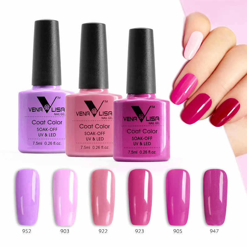 Detail Feedback Questions about Venalisa Pink Series Nail Lacquer ...