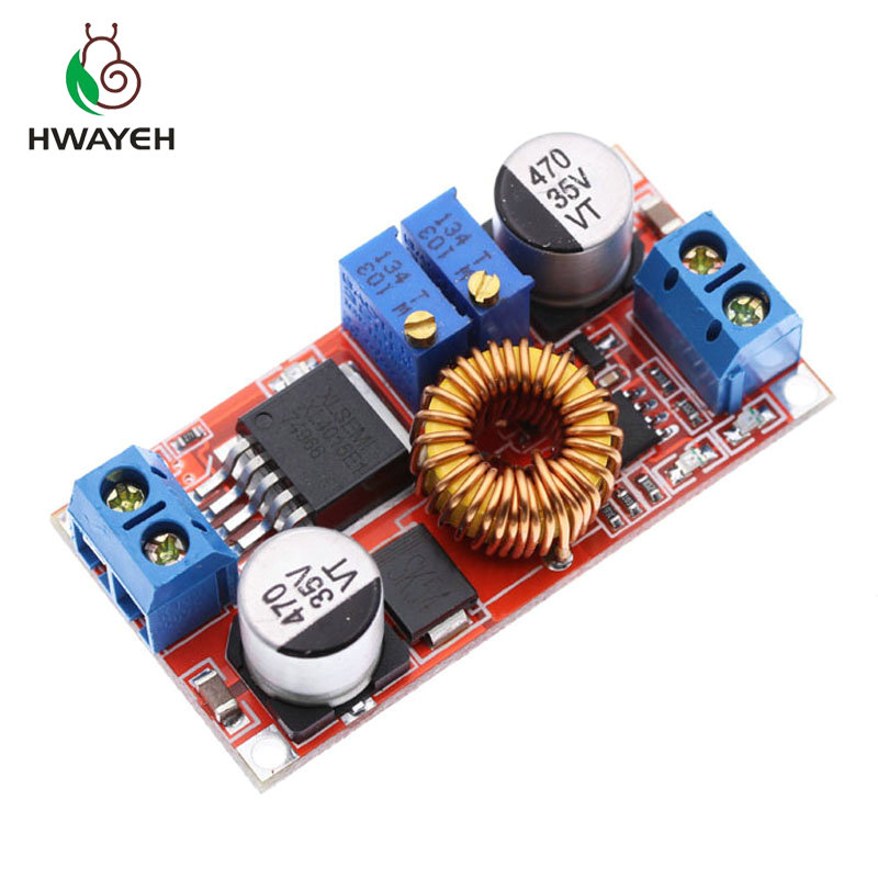 1pcs 5A DC To DC CC CV Lithium Battery Step Down Charging Board Led Power Converter Lithium Charger Step Down Module Hong